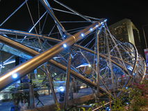 A ponte da hélice abre fotografia de stock royalty free