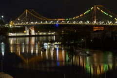 Ponte da história, Brisbane, Queensland, Austrália Fotografia de Stock