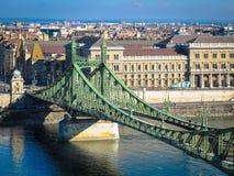 Ponte da liberdade, Budapest Imagens de Stock