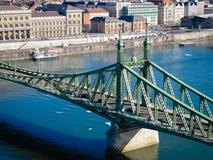Ponte da liberdade, Budapest Foto de Stock