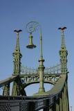Ponte da liberdade - Budapest, Hungria Imagens de Stock Royalty Free