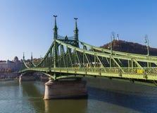 Ponte da liberdade em Budapest Hungria Imagem de Stock