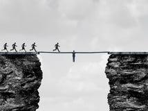 Ponte da liderança ilustração do vetor
