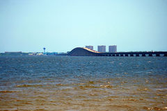 Ponte da Meados de-baía Imagem de Stock