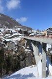 Ponte da montanha Foto de Stock