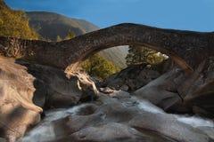 Ponte da montanha Imagem de Stock Royalty Free