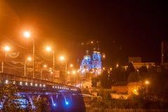 Ponte da noite Fotografia de Stock Royalty Free