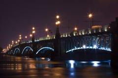 Ponte da noite Imagem de Stock Royalty Free