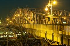 Ponte da noite Fotografia de Stock