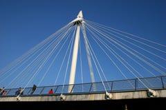 Ponte da ponte de Hungerford Imagens de Stock