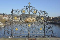 Ponte da república checa prague Fotos de Stock