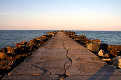 Ponte da rocha Imagem de Stock