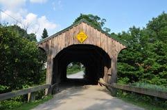 Ponte da rua da igreja Foto de Stock