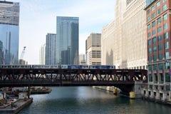 Ponte da rua de Wells Imagem de Stock Royalty Free