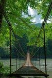 Ponte da suspensão Bridge Fotografia de Stock