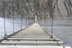 Ponte da suspensão Bridge Imagem de Stock Royalty Free