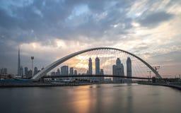 Ponte da tolerância em Dubai fotografia de stock