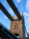 Ponte da torre imagem de stock