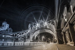 Ponte da torre de Londres, Inglaterra BRITÂNICA Imagem de Stock Royalty Free