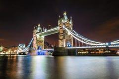 Ponte da torre de Londres, Inglaterra BRITÂNICA Fotografia de Stock