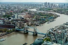 Ponte da torre em Londres Imagem de Stock Royalty Free