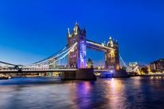 Ponte da torre em Londres Fotografia de Stock