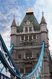 Ponte da torre em Londres Inglaterra Imagem de Stock Royalty Free