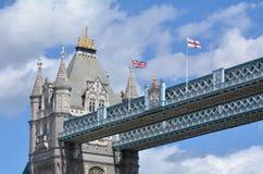 Ponte da torre em Londres - Inglaterra Reino Unido Imagens de Stock Royalty Free