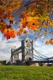 Ponte da torre em Londres, Reino Unido Imagens de Stock