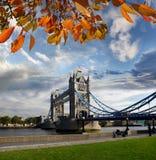 Ponte da torre em Londres, Reino Unido Foto de Stock Royalty Free