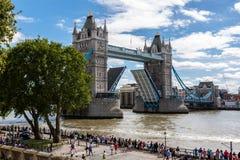 Ponte da torre em Londres, Reino Unido Fotografia de Stock