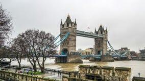 Ponte da torre em Londres, Reino Unido Foto de Stock