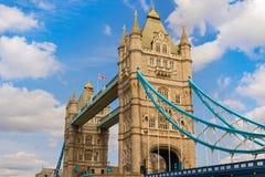 A ponte da torre fotografia de stock