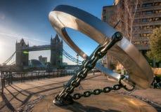 Ponte da torre, Londres Foto de Stock Royalty Free