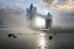 Ponte da torre, Londres, Reino Unido Imagens de Stock