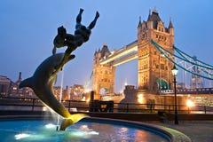Ponte da torre, Londres, Reino Unido Fotografia de Stock