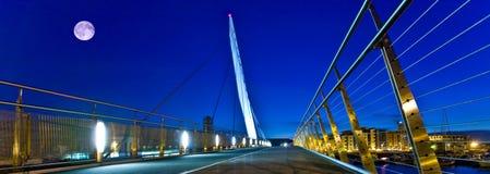 Ponte da vela de Swansea Imagens de Stock Royalty Free