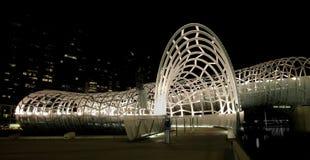 Ponte da Web, Melbourne imagens de stock