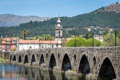 Ponte de利马在葡萄牙 库存图片