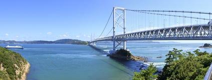 Ponte de Ånaruto imagem de stock