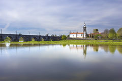 Ponte de Λίμα, εκκλησία Στοκ φωτογραφία με δικαίωμα ελεύθερης χρήσης