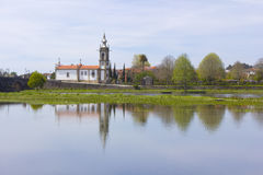 Ponte de Лима, церковь Стоковое фото RF