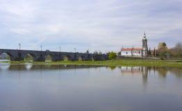 Ponte de Лима, церковь Стоковые Изображения