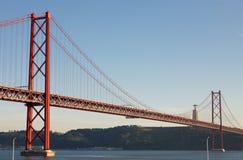 Ponte 25 De Abril Zdjęcia Royalty Free