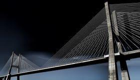 Ponte 25 de Abril Brücke Portugal Lizenzfreie Stockbilder
