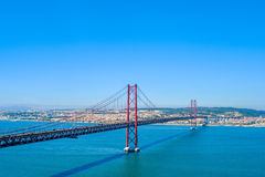 Ponte 25 de Abril Stock Photography