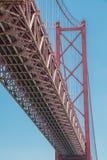 Ponte 25 de abril, Portogallo Fotografie Stock Libere da Diritti