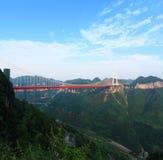 Ponte de Aizhai Fotos de Stock