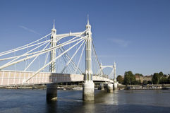 Ponte de Albert, Londres Foto de Stock Royalty Free