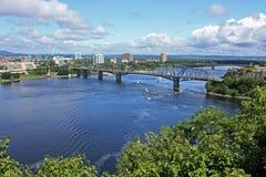 Ponte de Alexandra Fotos de Stock Royalty Free